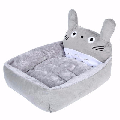 Cartoon Cat Beds & Mats Cozy Warm Soft Fleece Bed Sofa For Small Pet Dogs Cats Washable - Mirage Novelty World