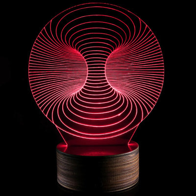3D Optical illusion Light Art LED Glowing Lamp - Mirage Novelty World