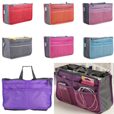 Organizer Insert Bag Women Nylon Travel Insert Organizer Handbag - Mirage Novelty World