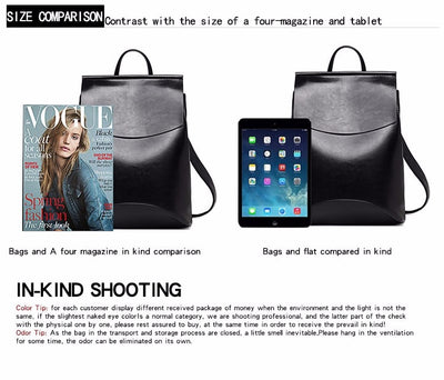 Fashion Women Backpack High Quality Youth Leather Backpacks - Mirage Novelty World