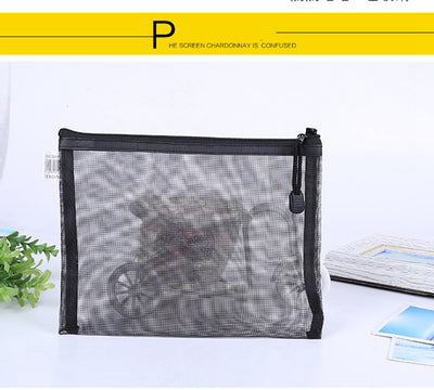 Casual Travel Cosmetic Bag Women Zipper Make Up Transparent Makeup Case Organizer Storage Pouch Toiletry Beauty Wash Kit Bags - Mirage Novelty World