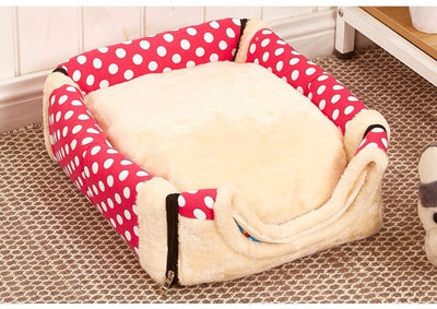 Foldable Dog House Nest With  Mat For Small Medium Dogs Travel Kennels - Mirage Novelty World