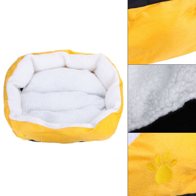 Pet Dog Bed Warming Dog House Soft Material Fleece Mat Kennel For Cat Puppy - Mirage Novelty World