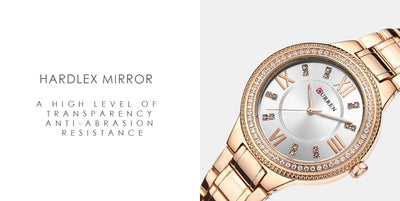 Gold Watch Women Watches Ladies Creative Steel Women's Bracelet Watches - Mirage Novelty World