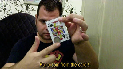 PASS (Gimmick+Online Instruct) By Mickael Chatelain Magic Tricks Illusion Card Coin Magic - Mirage Novelty World
