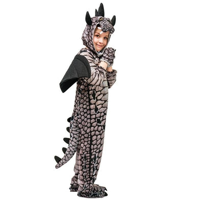 Kids Dinosaur Triceratops/Tyrannosaurus/Stegosaurus Costume Cosplay Jurassic Park Animal Clothes Role Play for Party - Mirage Novelty World
