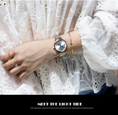 Luxury Fashion Women Watches Lady Watch Stainless Steel Dress Women Watch - Mirage Novelty World