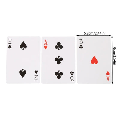 Magic Toy Three Card Monte Poke Trick Instant Change Card Easy To Play - Mirage Novelty World