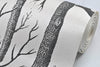 Black White Birch Tree Wallpaper for Bedroom Modern Design Living Room Wall Paper - Mirage Novelty World