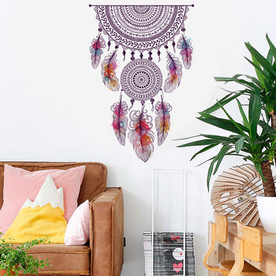 Style Dream Catcher Wall Sticker PVC Bedroom Self-Adhesive Art Background Home Decor Stickers Muraux Adesivo De Parede - Mirage Novelty World
