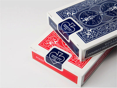 Original Bicycle Poker (Blue or Red) Bicycle Magic Regular Playing Cards Rider Back Standard Decks Magic Trick - Mirage Novelty World