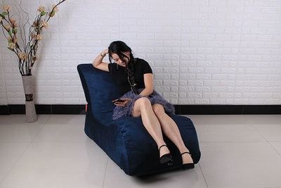Beanbag Chair Of The Chat Bean bag sofas set living room furniture without filling - Mirage Novelty World