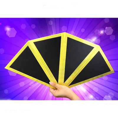 Funnel (Four-Screen Fan) Production  Magic Tricks Appearing Magie Stage - Mirage Novelty World