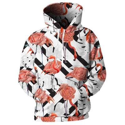 Cloudstyle Floral Hooded Men Women Sweatshirt 3d Print Flower Palm Hoodie - Mirage Novelty World