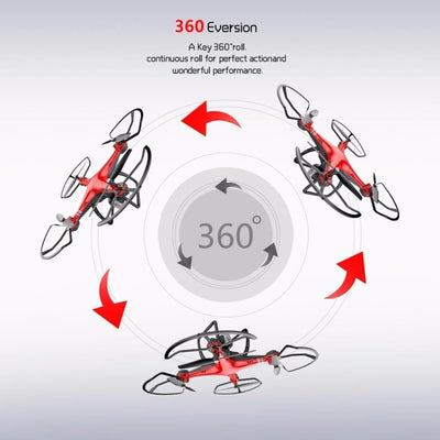 X8 RC Drone with HD 3MP Camera Altitude Hold One Key Return/Landing/Take Off Head Mode 2.4G RC Quadcopter Drone - Mirage Novelty World