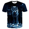3D Wolf print Men T-shirts - Mirage Novelty World