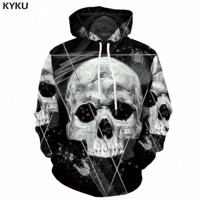 3D Eagle Anime Hoodie Men Streetwear - Mirage Novelty World