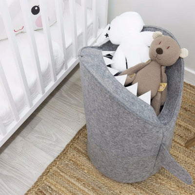 Shark Shaped Kids Toy Storage Basket - Mirage Novelty World