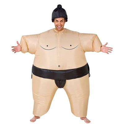 Sumo Inflatable Costume For Man Women Kids - Mirage Novelty World