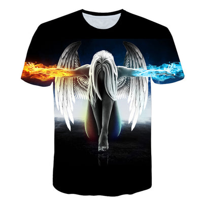 Knowledge T-Shirt psychedelic 3d Print t shirt Men Women - Mirage Novelty World