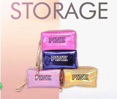 Fashion Waterproof Laser Cosmetic Bags Women Neceser Make Up Bag - Mirage Novelty World