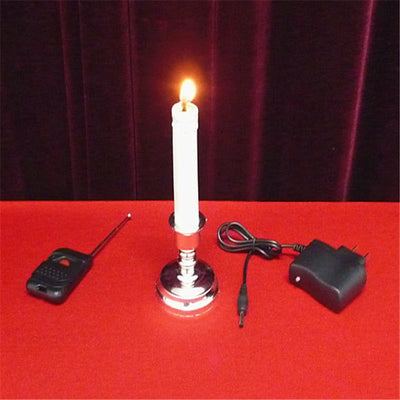Remote Control Candle Magic Tricks Fire Magic Magician Stage Bar Mentalism - Mirage Novelty World