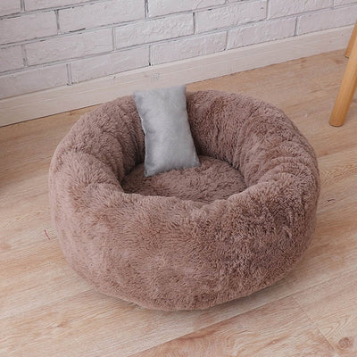 Warm Plush Indoor Cat House Kennel Dog Bed Washable for Medium Dogs Puppy S/M/L - Mirage Novelty World