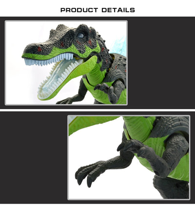 Quality Large size 51CM Electric walking dinosaur robot With Light Sound Brachiosaurus - Mirage Novelty World