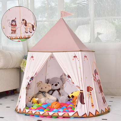 Kids Children Portable Props Playhouses Tent - Mirage Novelty World