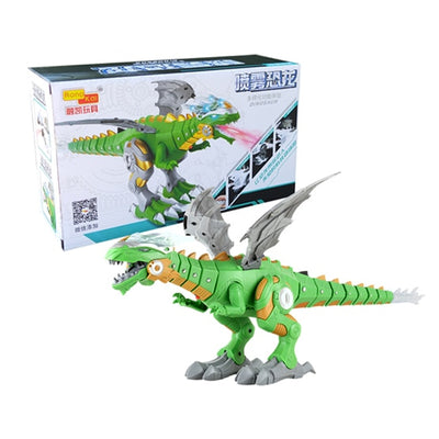 Electric interactive talking and walking Fire Dragon & Dinosaurs - Mirage Novelty World