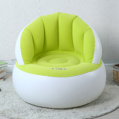 Cute Folding Flocking Inflatable Sofa Lazy Sofa Chair  Bedroom Furniture - Mirage Novelty World