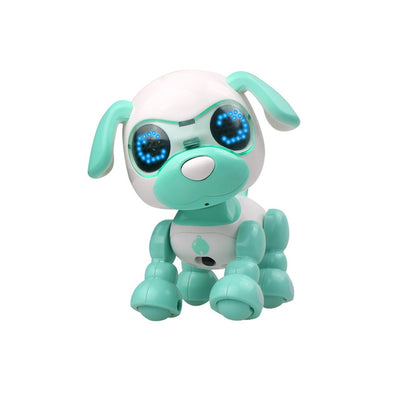 Kid Toy Child Cute Robotic Walking Pet Dog Baby Puppy Interactive Smart LED Eyes Sound Recording Sing Toy Gift - Mirage Novelty World