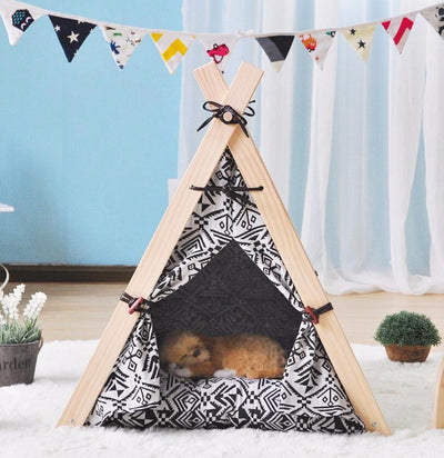 Dog House Nest With Mat Foldable Pet tent Dog Cat Bed House For Small Medium Dogs Travel Pet Bed - Mirage Novelty World