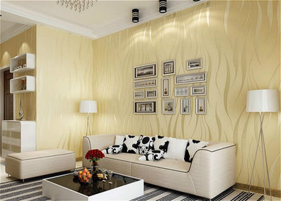 Modern 3D Abstract Geometric Wallpaper Roll For Room Bedroom Living room Home Decor - Mirage Novelty World