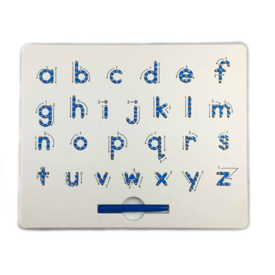 Magnetic Tablet Drawing Board Pad Toy Bead Magnet Stylus Pen 26 Alphabet Numbers Writing Memo Board Learning Educational Kid Toy - Mirage Novelty World