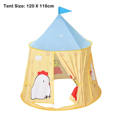 Kids Toys Princess Castle Indoor Outdoor Playhouse for Kids - Mirage Novelty World