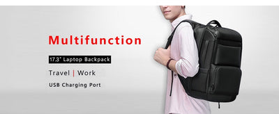 Multifunction Crossbody Bags Men USB Charging Chest Pack Short Trip Messengers Chest Bag - Mirage Novelty World