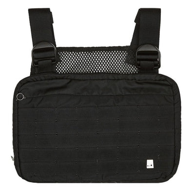 Black Chest Rig Bags Waist Bag Hip Hop Streetwear Functional Tactical Chest Bag - Mirage Novelty World