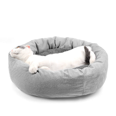 Cat Soft Bed Winter House Cave for Cat Sleeping Kitten with Pillow - Mirage Novelty World