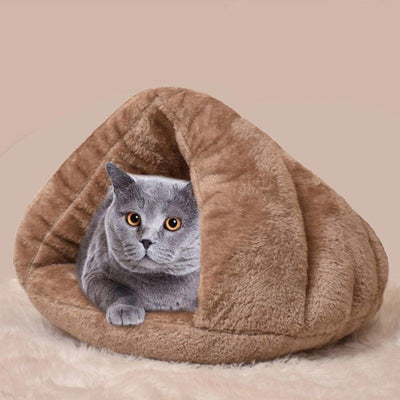 Puppy Pet Cat Dog Soft Warm Nest Kennel Bed Cave House Sleeping Bag - Mirage Novelty World