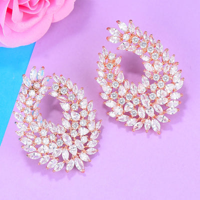 41mm Luxury Popular Waterdrop Full Mirco Paved Cubic Zircon Naija Wedding Earring Fashion Jewelry - Mirage Novelty World