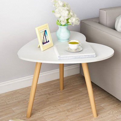 Nordic Small Round Table Modern Minimalist Sofa Tea Coffee Side Table Computer Laptop Desk Bedroom Living Room Furniture - Mirage Novelty World