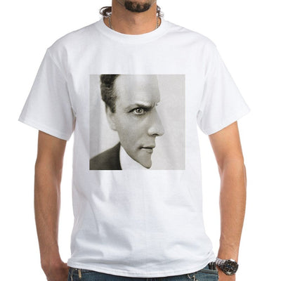 Houdini Optical Illusion White T-Shirt 100% Cotton - Mirage Novelty World
