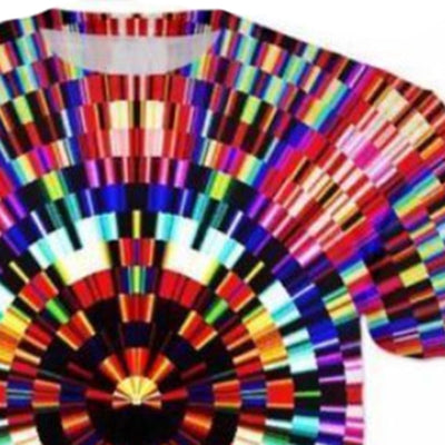 Colorful Illusion Print t-shirt Men - Mirage Novelty World