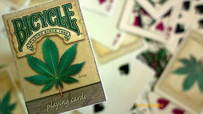 1 Bicycle Hemp Deck Playing Cards Magic Category Poker Cards Magic Deck MagicTricks - Mirage Novelty World
