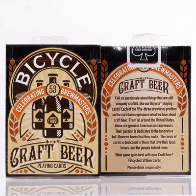 1 Deck Craft Beer Deck Bicycle Playing Cards Magic Tricks Poker Size USPCC Custom Limited Edition Magic - Mirage Novelty World
