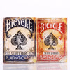 Bicycle Vintage Series 1800 Marked Deck Blue/Red Magic Cards Poker Playing Cards By Ellusionist - Mirage Novelty World