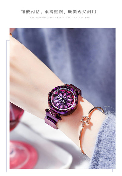 Steel Fashion Watch Women Luxury Gold Quartz Wristwatch Casual Ladies Bracelet Dress Watches Relogio Feminino - Mirage Novelty World