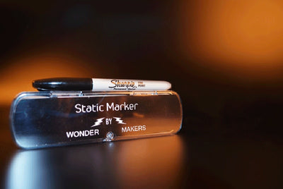 Static Marker By Wonder Makers (Gimmicks and Online Instructions) Illusions Magic Tricks Mentalism Street Magia Profesional - Mirage Novelty World