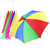 1 Set 40cm Magic Scarves Change The Umbrella (1 Pcs Umbrella +6 Pcs Silks )  Magic Tricks - Mirage Novelty World
